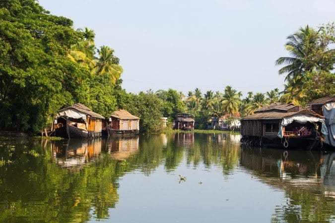 أجمل الأماكن السياحية في ولاية كيرالا