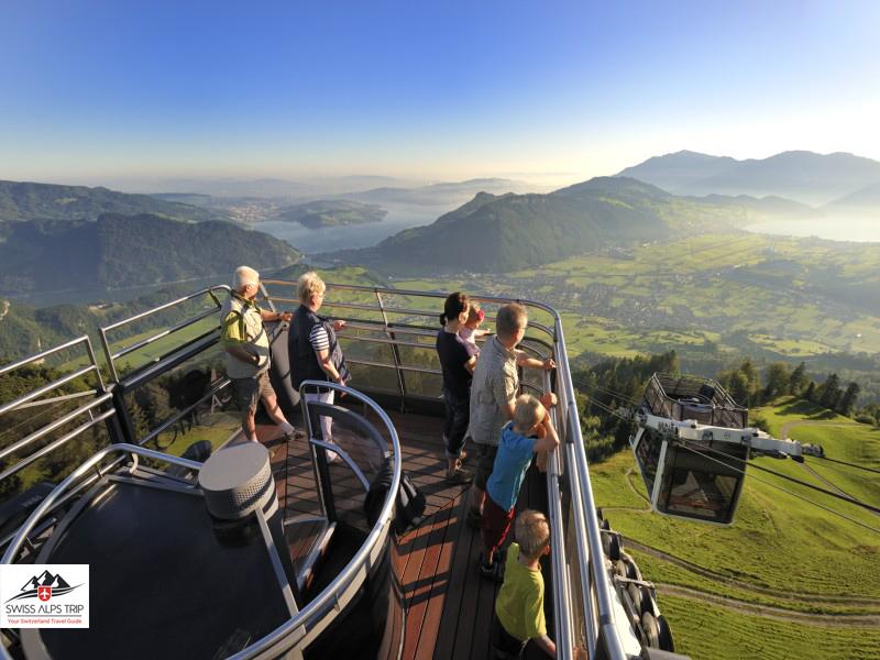 قمة جبل شتانزارهورن سويسرا Stanserhorn Mountain