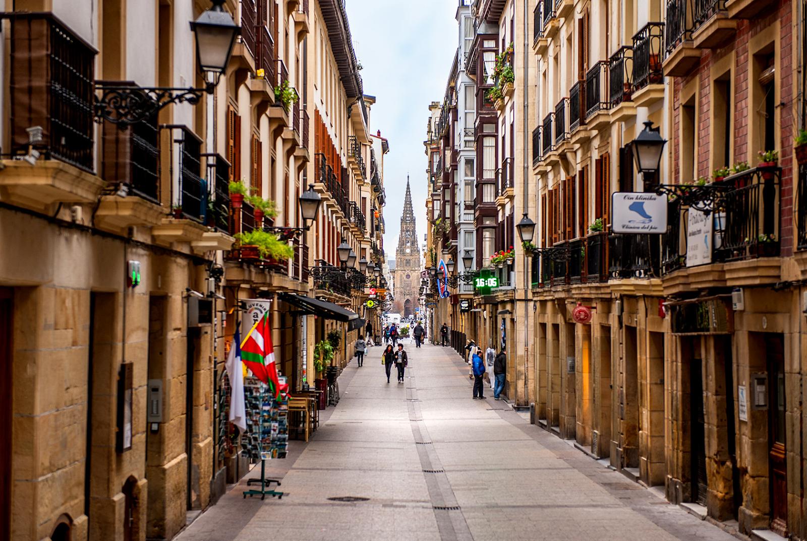 السياحة في مدينة سان سيباستيان الاسبانية