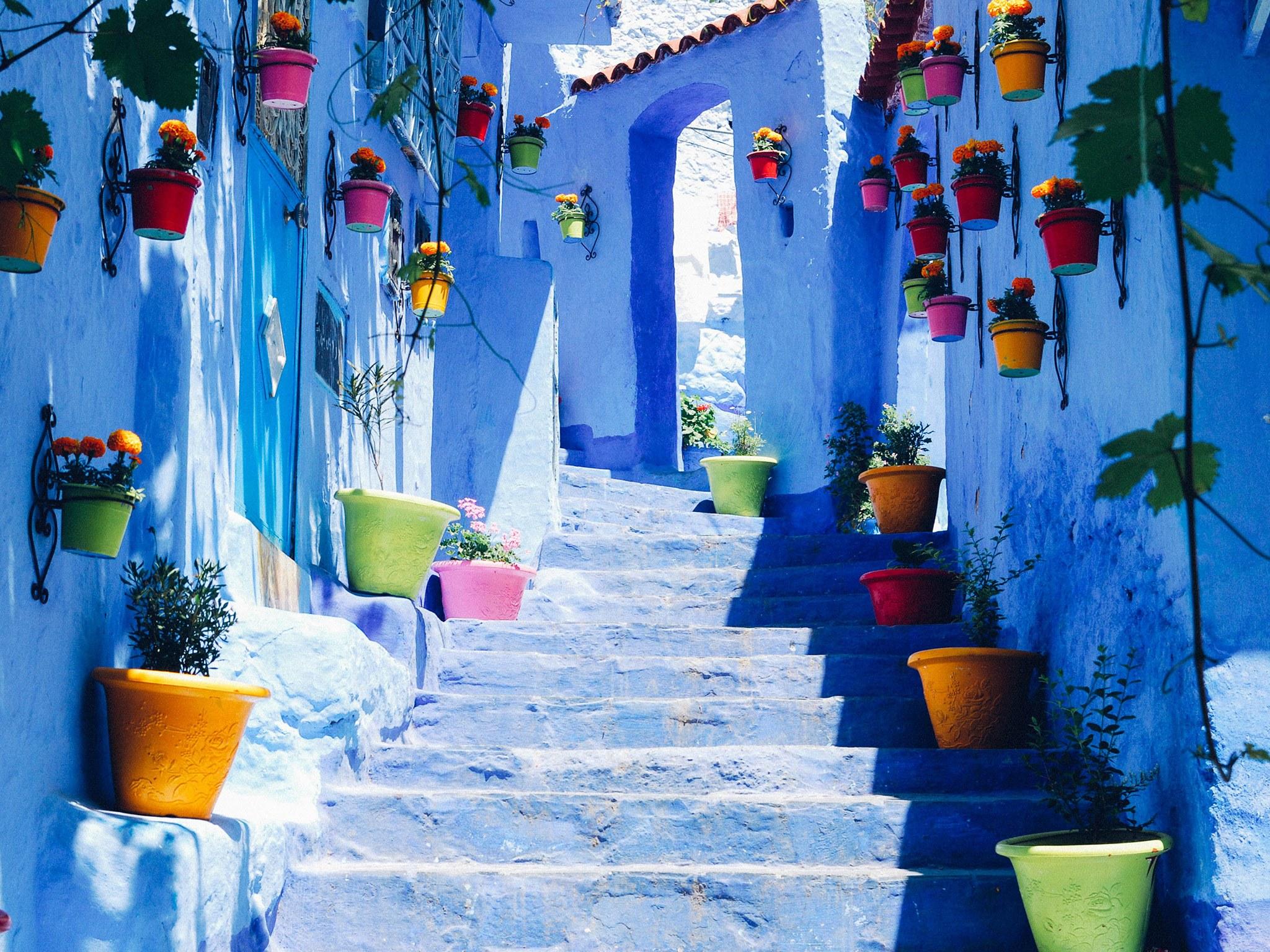 المغرب الساحر و بلدانه الخلابة
