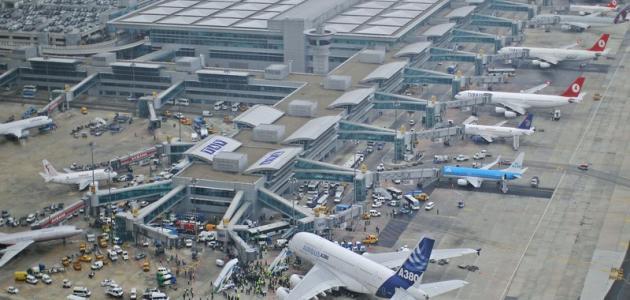 أهم المطارات في تركيا