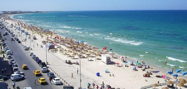 تونس والمدن السياحية بها