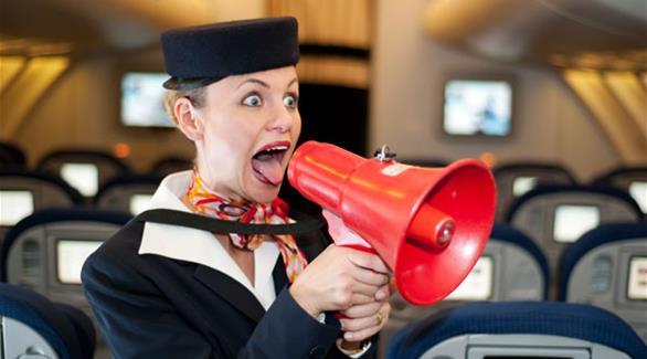 أكثر التصرفات إزعاجاً للمضيفين على متن الطائرة