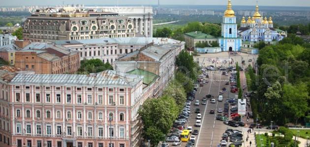 أوكرانيا والسياحة بها